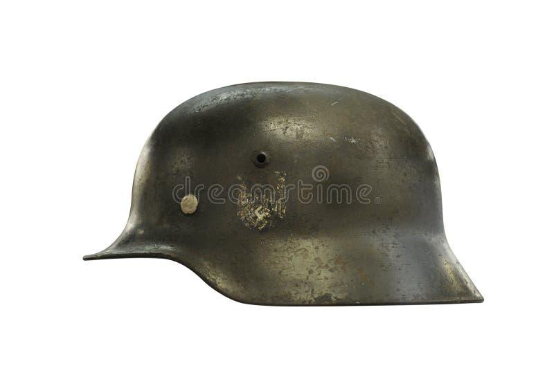немецкий шлем стоковое фото rf
