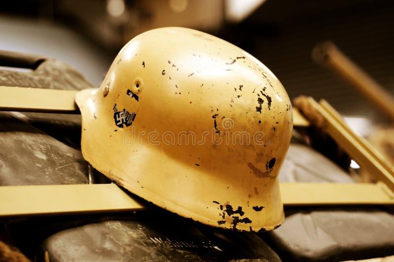 немецкий шлем стоковая фотография