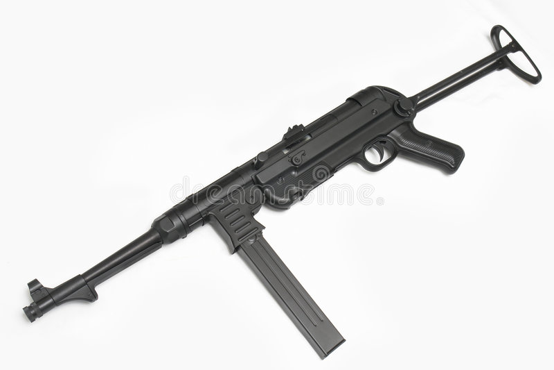 немецкий submachine пушки mp40 стоковые изображения