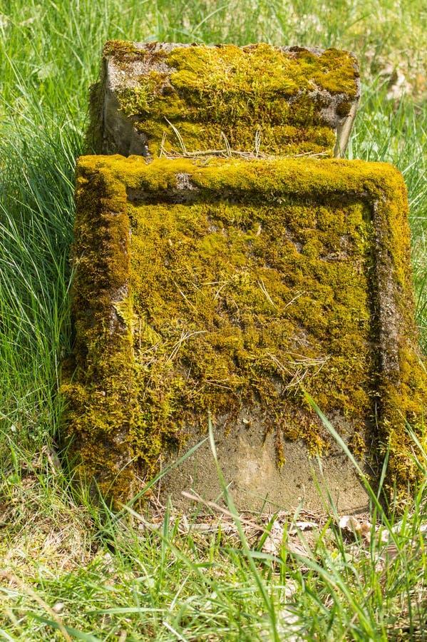 Немецкое cementry стоковые изображения rf