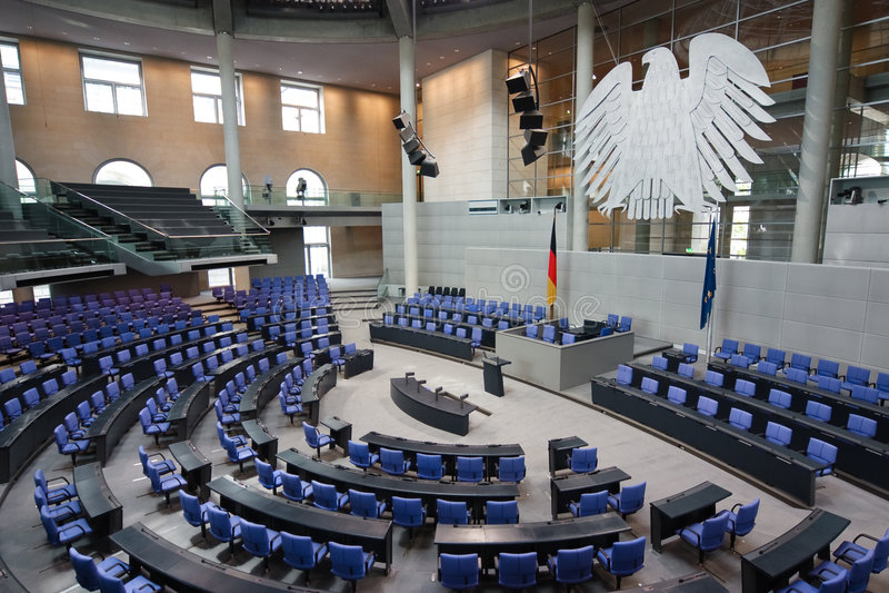 немецкое reichstag парламента стоковое фото rf