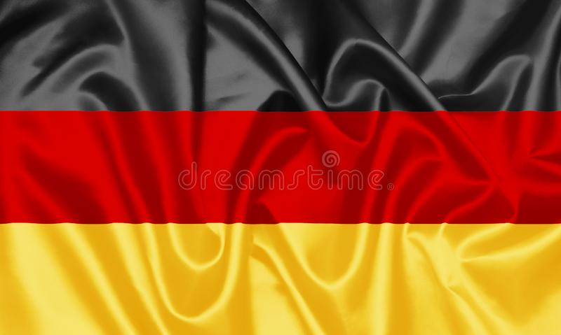 немец Германия флага иллюстрация штока