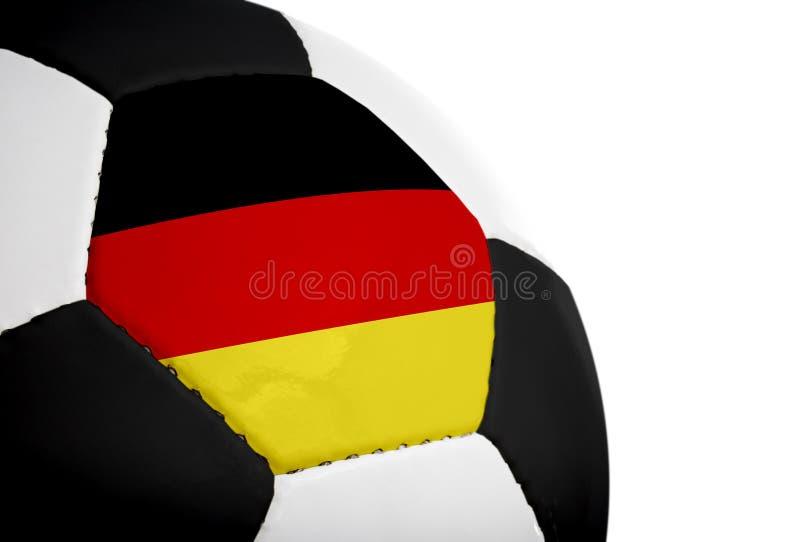 немец футбола флага стоковая фотография rf