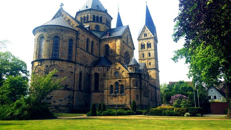 немец церков стоковое изображение