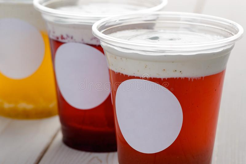 Немногие чашки чая сыра стоковые фотографии rf