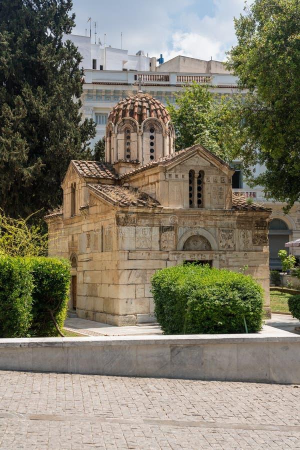 Немногое метрополия собором в Афина стоковые изображения