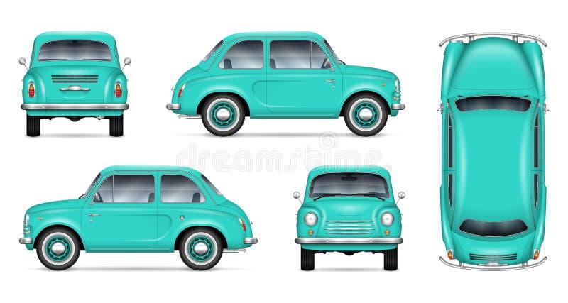 Немногое модель-макет вектора автомобиля иллюстрация вектора