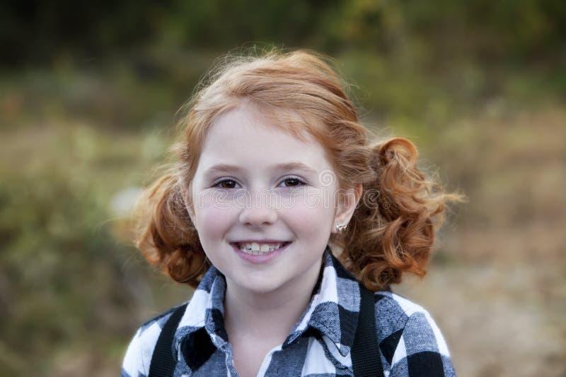 немного outdoors redhead стоковые фото