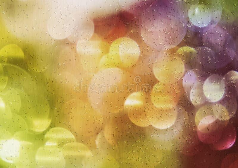 Ненастные света стоковая фотография
