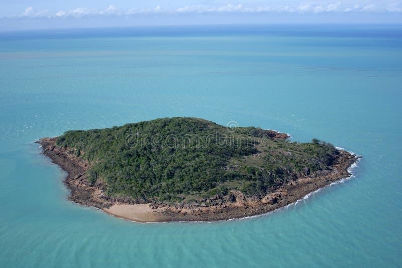 необитаемый остров стоковая фотография rf