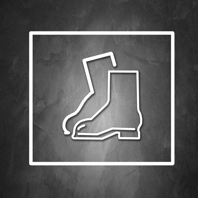 Необходимое предохранение от носки стоковая фотография rf