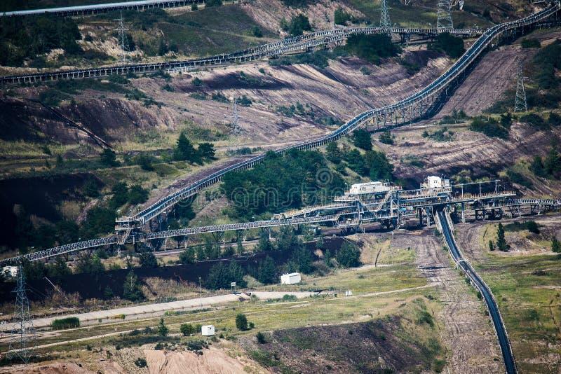Необыкновенная большая электростанция стоковая фотография rf