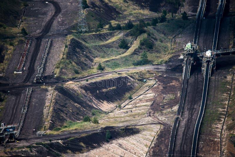 Необыкновенная большая электростанция стоковое изображение