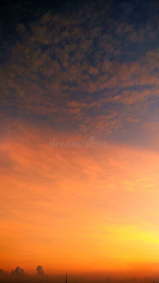 Необыкновенное небо стоковые изображения