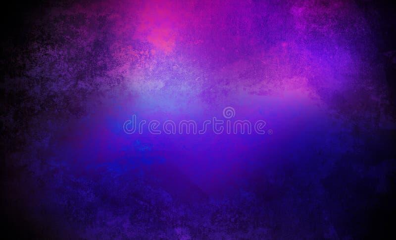 Неоновая предпосылка стены, взгляд ночи, неоновый орнамент иллюстрация вектора