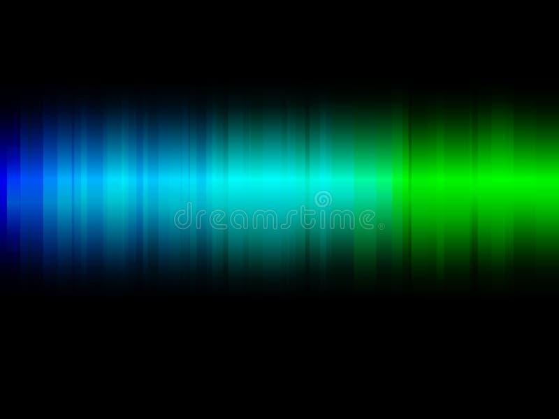 Неоновые абстрактные линии конструируют на темном векторе предпосылки бесплатная иллюстрация
