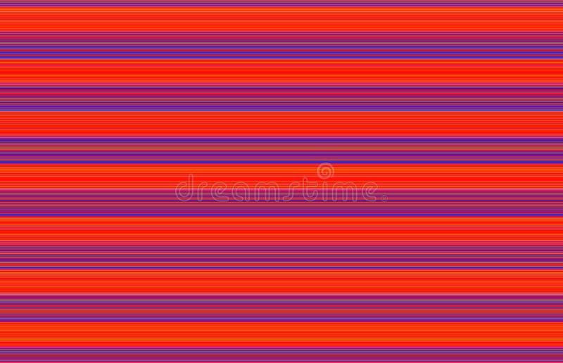 Неоновый апельсин и голубая Striped предпосылка бесплатная иллюстрация