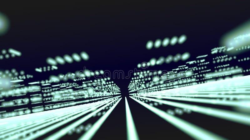 Неоновый город стоковое изображение