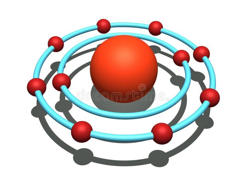 неон атома бесплатная иллюстрация