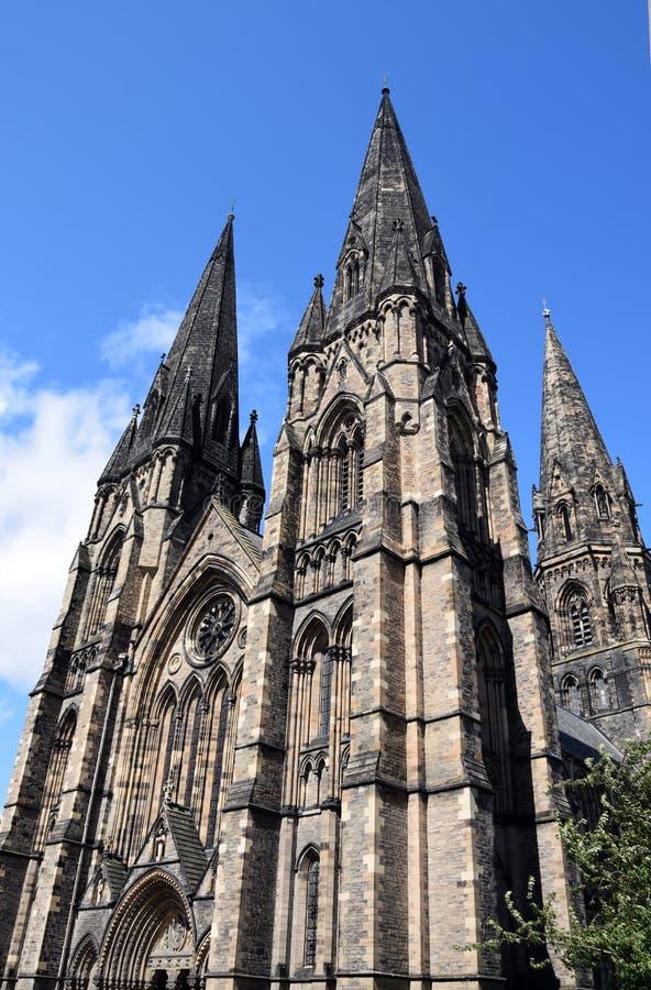 Нео-готический - собор ` s St Mary стоковое изображение