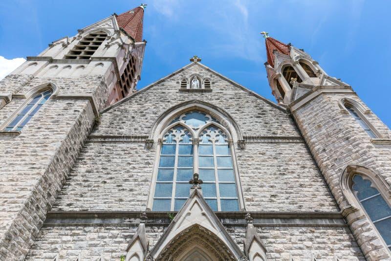 нео церков готское стоковая фотография rf