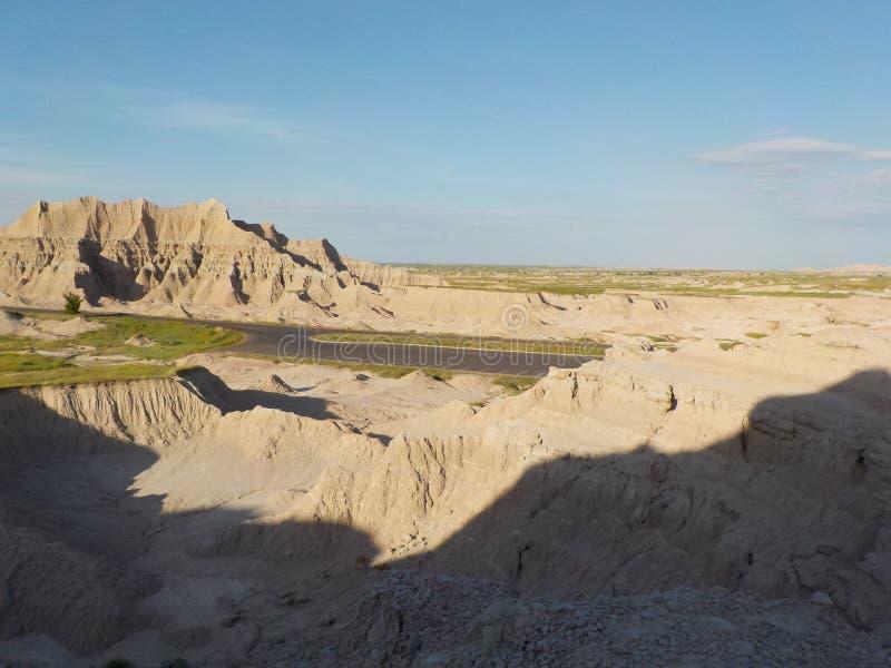 Неплодородные почвы с тенью стоковое изображение