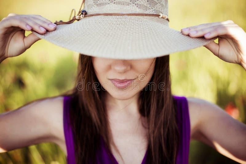 Непознаваемая девушка стоковая фотография rf