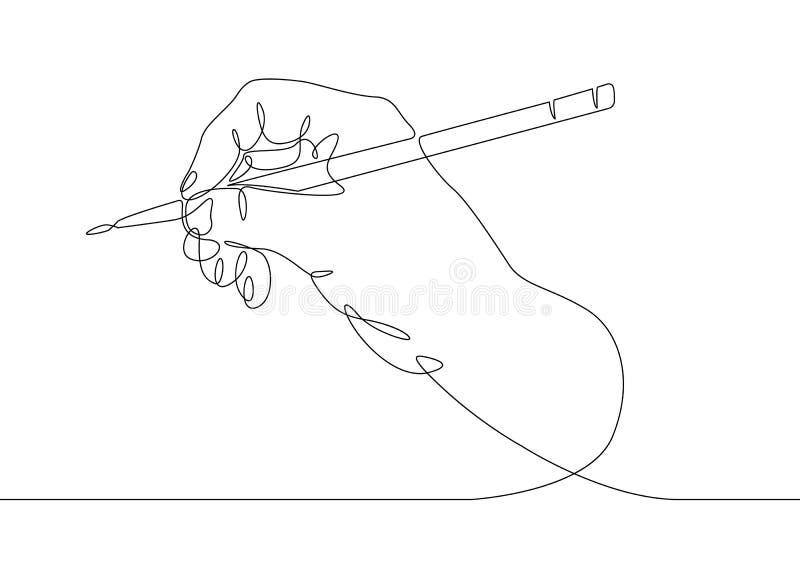 Непрерывная линия чертеж бесплатная иллюстрация