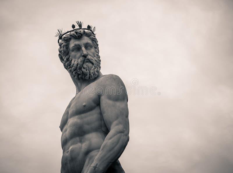 Нептун Флоренция стоковое фото rf