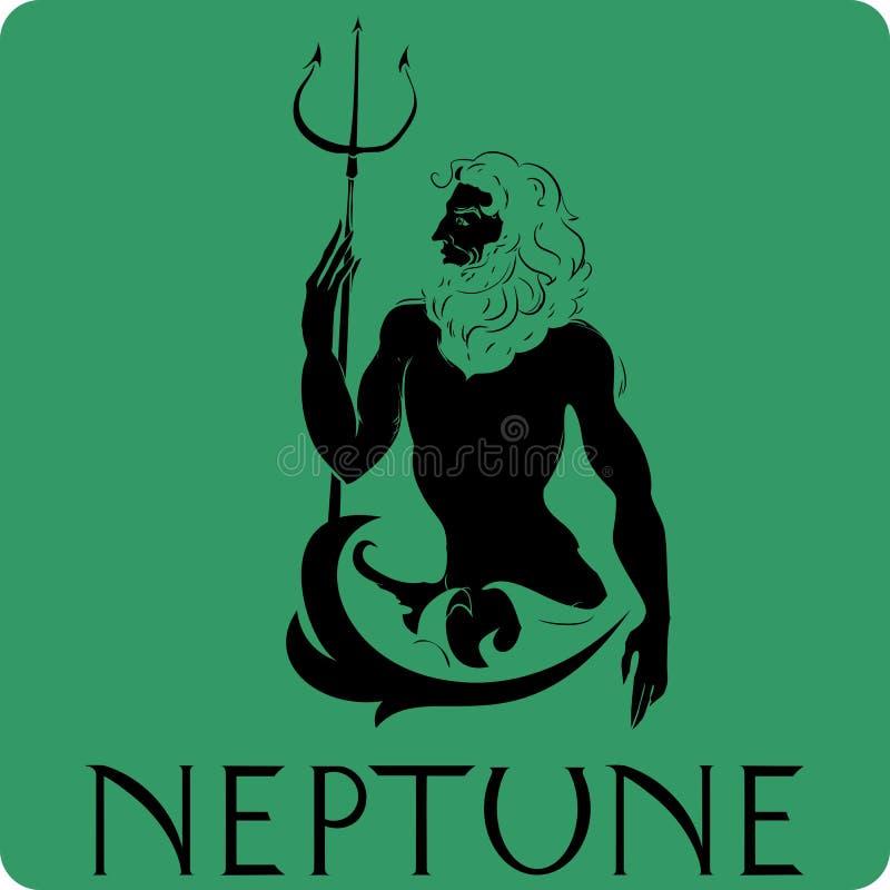 Нептун бесплатная иллюстрация