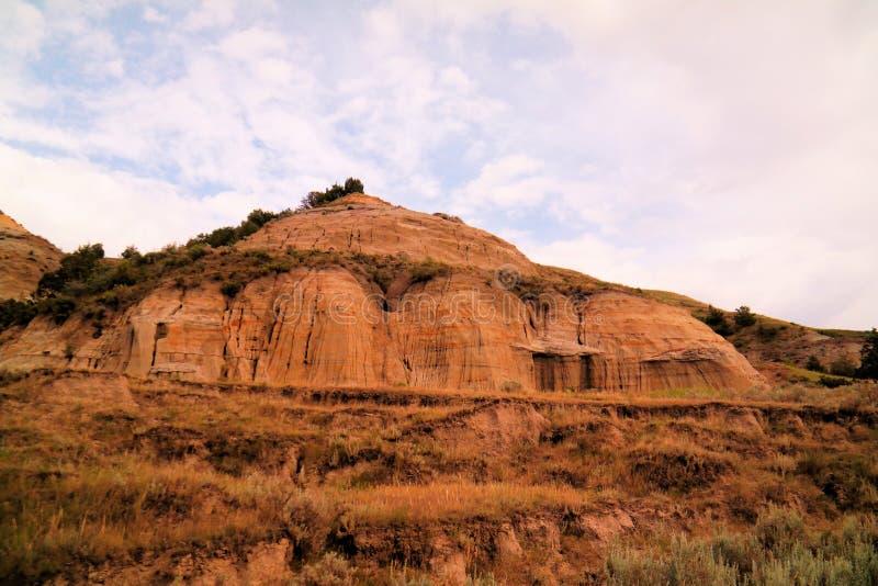 Неплодородные почвы Северной Дакоты стоковая фотография