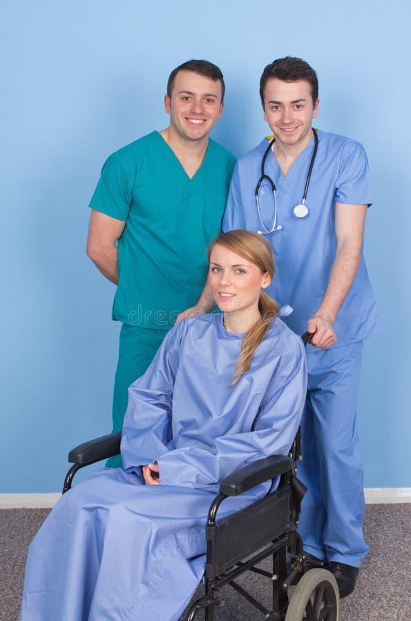 Неработающая персона с медицинским штатом стоковое изображение rf