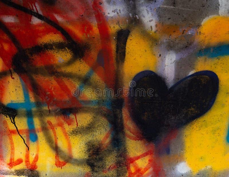 Нервное городское искусство Graffitti стоковые изображения