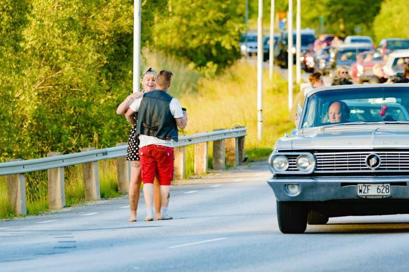 Нервное расстройство и хаос автомобиля стоковая фотография