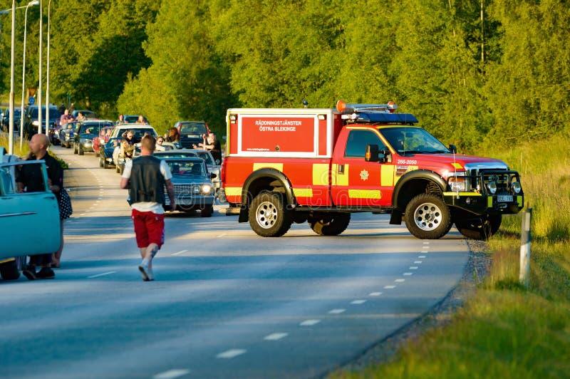 Нервное расстройство и хаос автомобиля стоковое фото rf