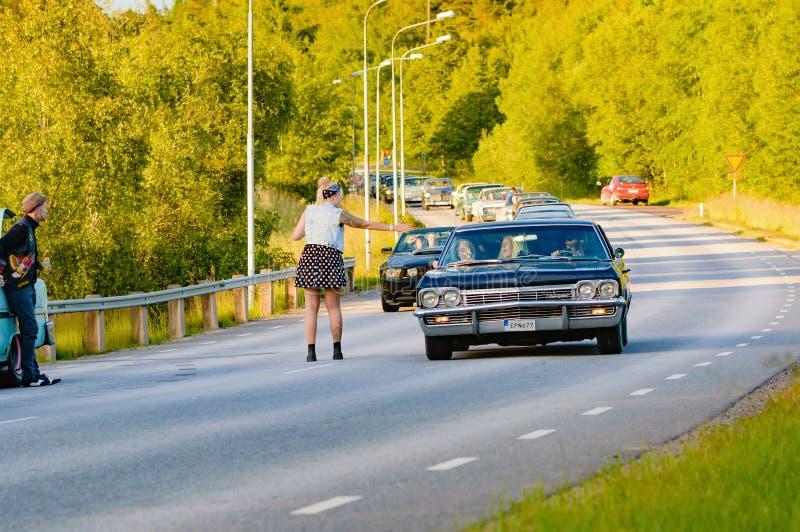 Нервное расстройство и хаос автомобиля стоковое изображение rf