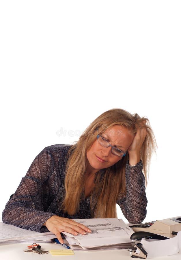 нервное расстройство слабонервное стоковое фото rf