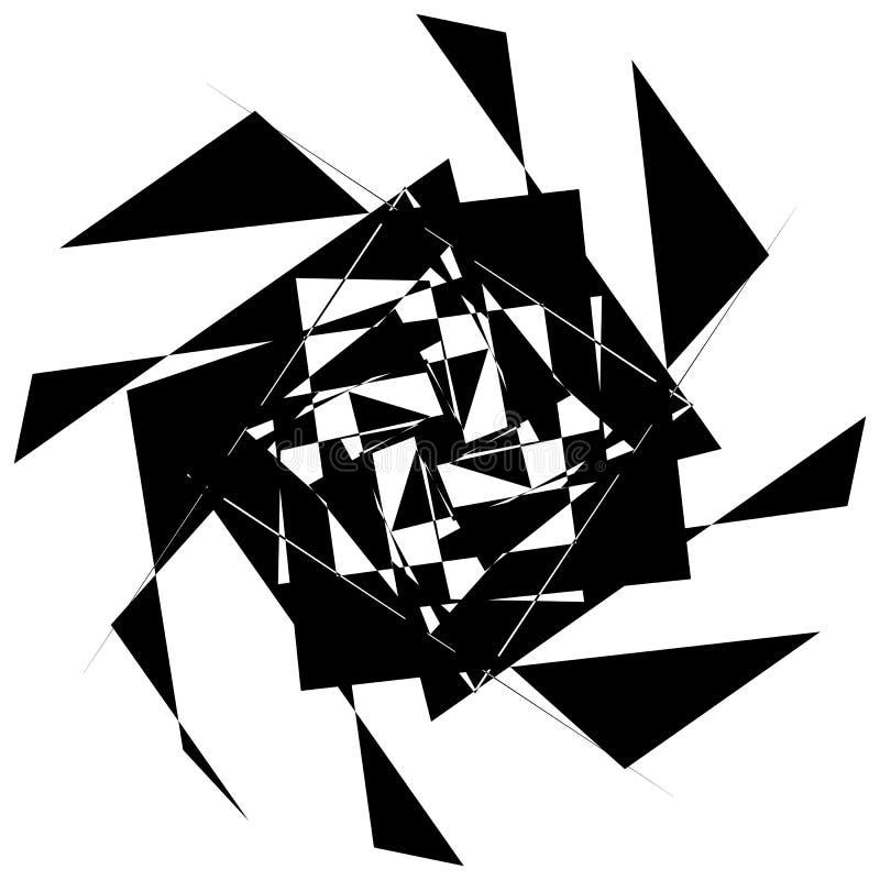 Download Нервный геометрический элемент, случайная форма Абстрактное Monochrome Illust Иллюстрация вектора - иллюстрации насчитывающей часть, деформация: 81809248
