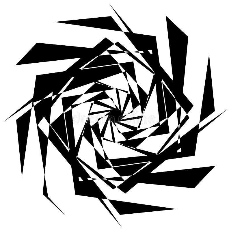 Download Нервный геометрический элемент, случайная форма Абстрактное Monochrome Illust Иллюстрация вектора - иллюстрации насчитывающей glitch, геометрическо: 81809363