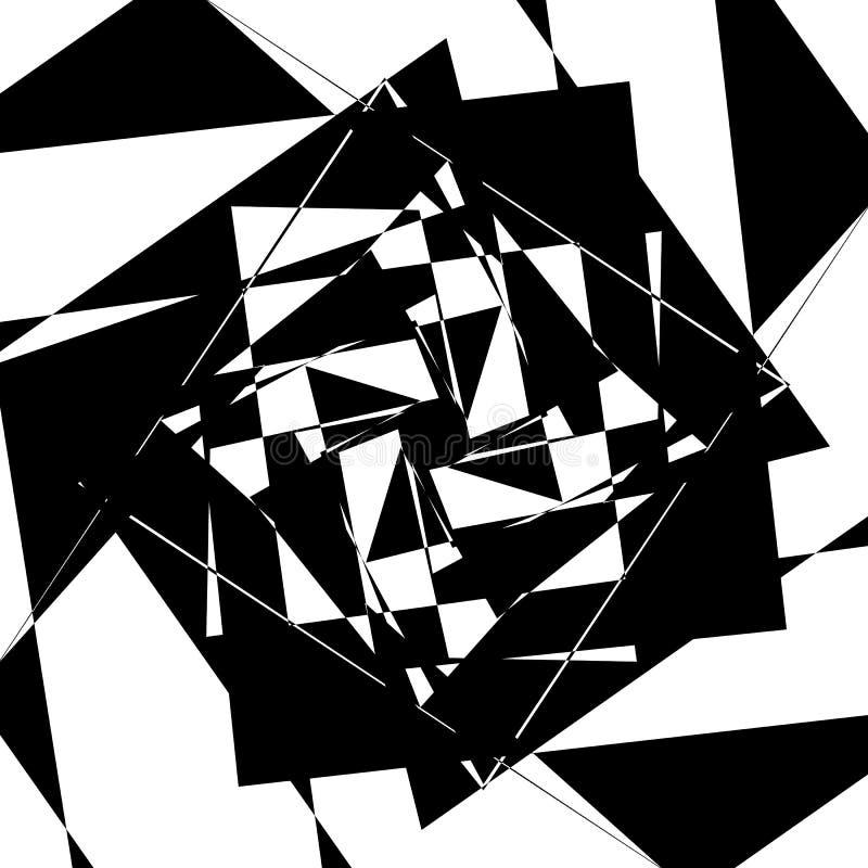 Download Нервный геометрический элемент, случайная форма Абстрактное Monochrome Illust Иллюстрация вектора - иллюстрации насчитывающей malformed, несимметричной: 81809369