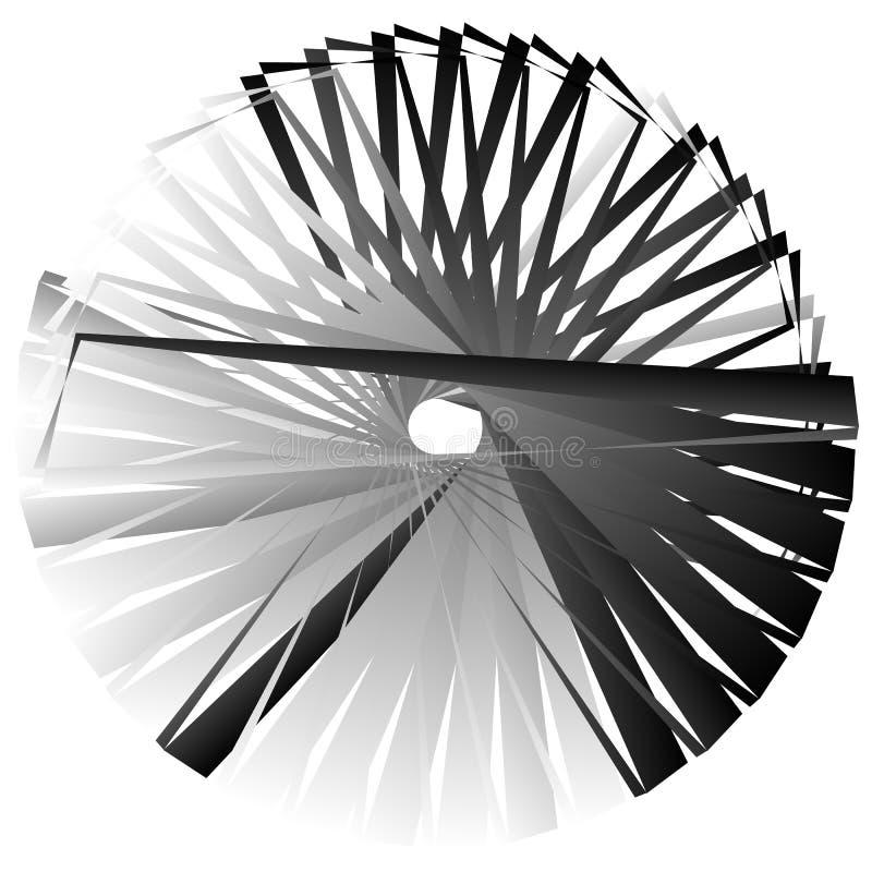 Download Нервный, угловой геометрический элемент Абстрактная круглая форма на Whit Иллюстрация вектора - иллюстрации насчитывающей нервно, оптически: 81807818