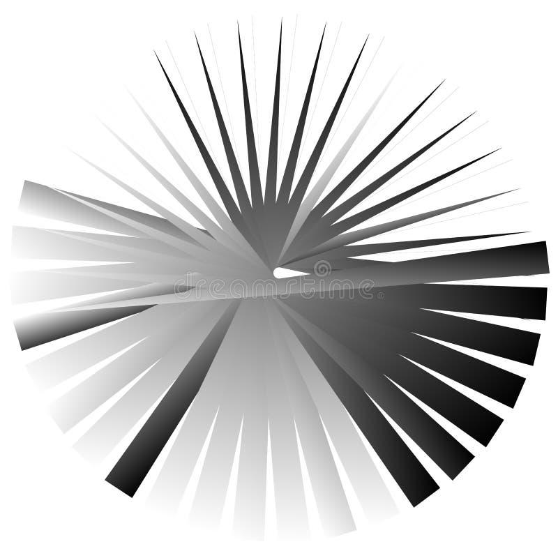 Download Нервный, угловой геометрический элемент Абстрактная круглая форма на Whit Иллюстрация вектора - иллюстрации насчитывающей черный, геометрия: 81808000