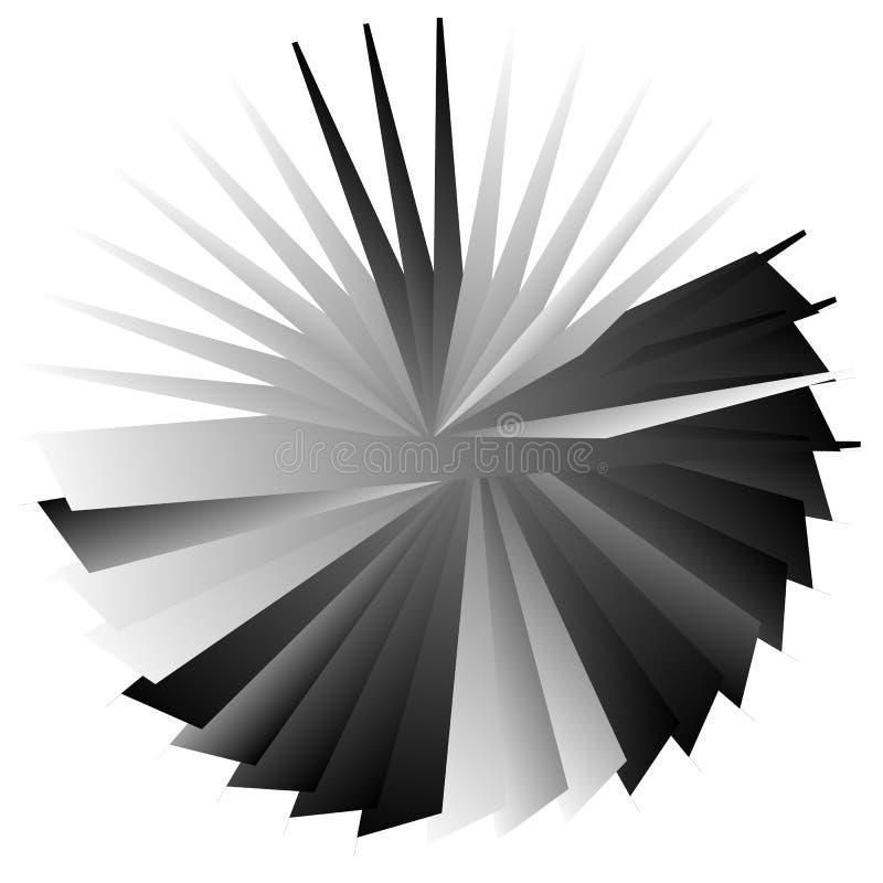 Download Нервный, угловой геометрический элемент Абстрактная круглая форма на Whit Иллюстрация вектора - иллюстрации насчитывающей искажение, элемент: 81809555