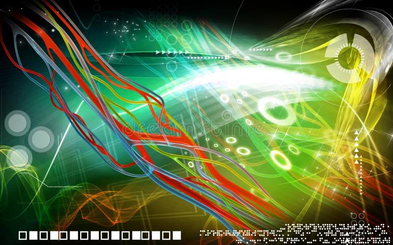 Нервы иллюстрация вектора