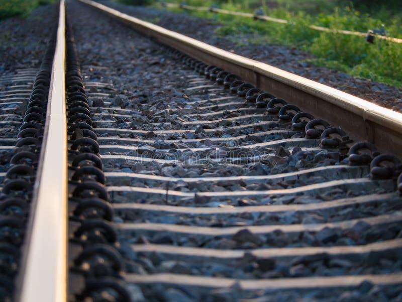 Нерезкость железной дороги стоковые фотографии rf