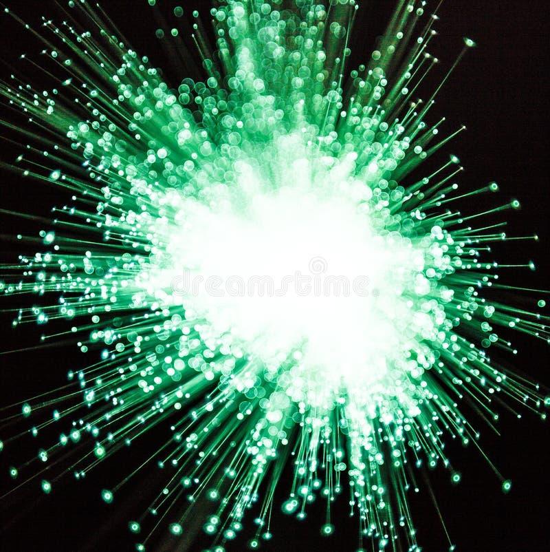 Нерезкость зеленого цвета и белого света стоковое изображение rf