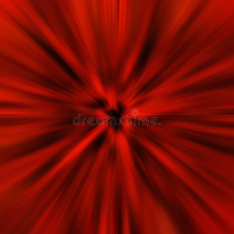Нерезкость красных светов будущая иллюстрация штока