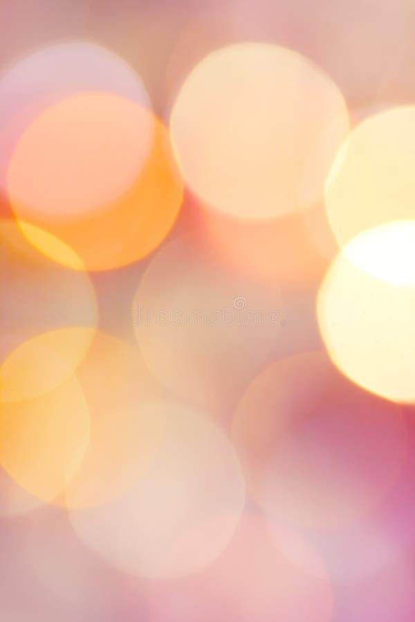 нерезкость объезжает свет стоковые изображения