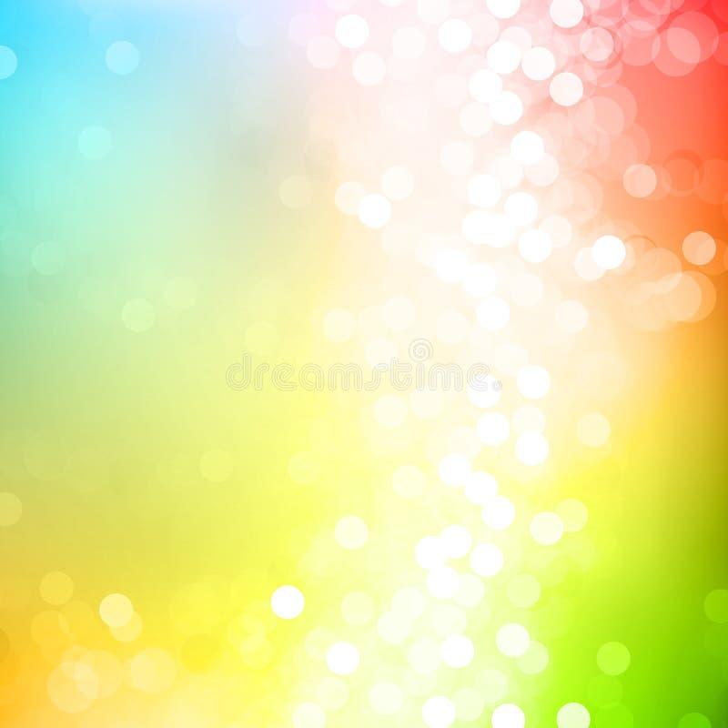 нерезкость цветастая иллюстрация вектора