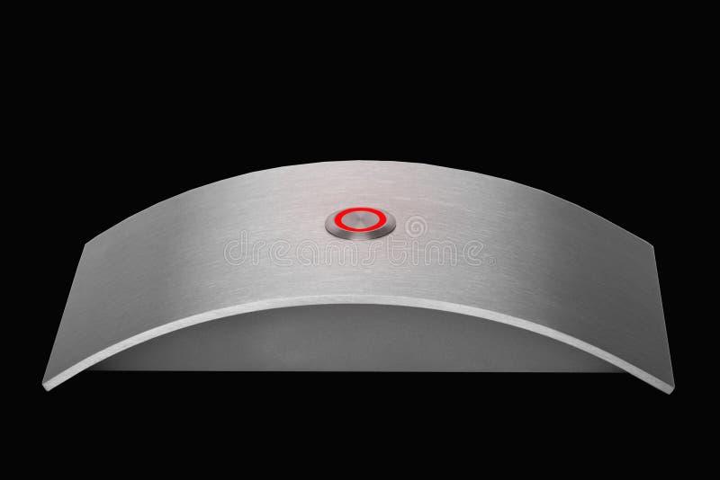 нержавеющая сталь дверного звонока стоковое изображение
